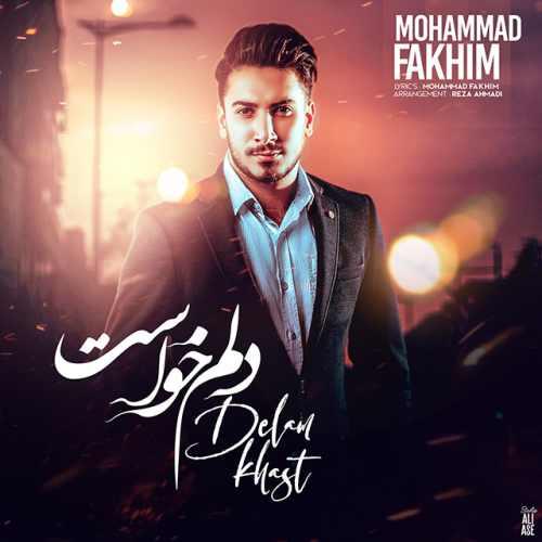 دانلود آهنگ جدید محمد فخیم به نام دلم خواست